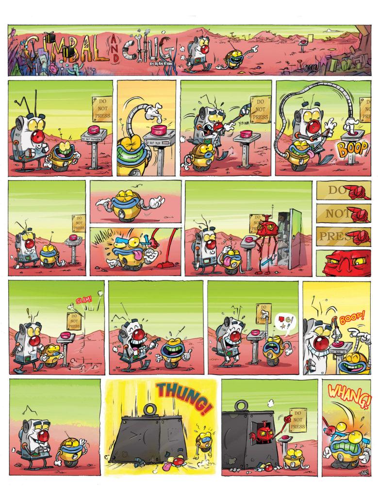 Moose Kid Comics Issue Three - Alan Ryan