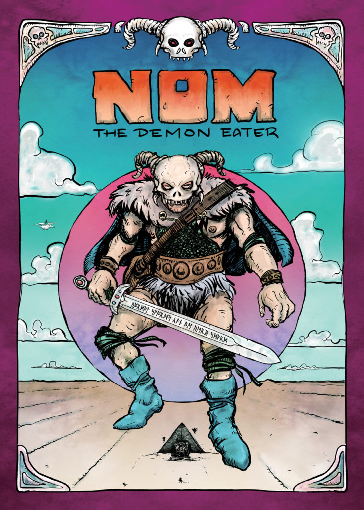 NOM The Demon Eater - Cover