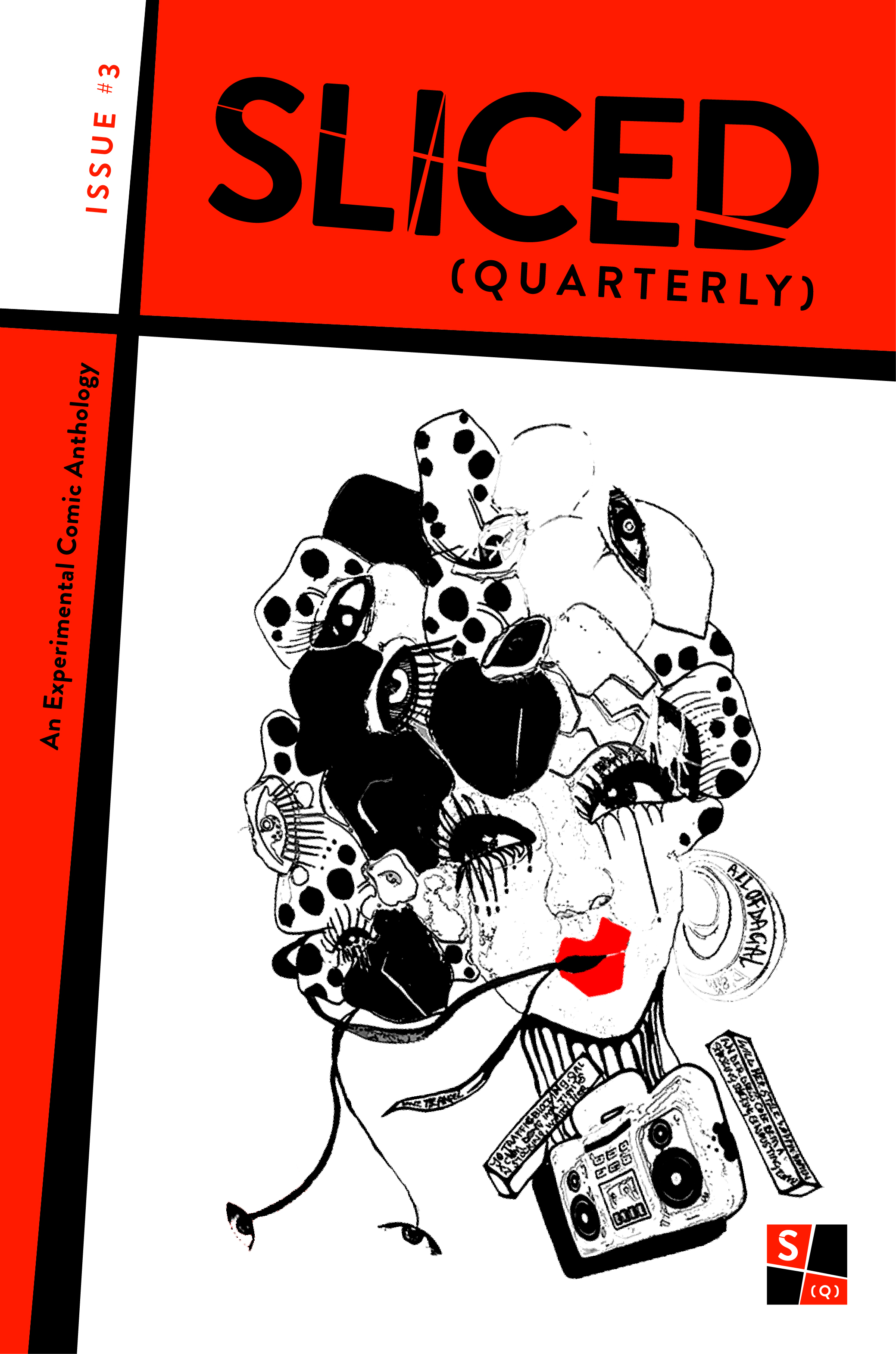 Sliced (Quarterly) Issue #3 - Cover