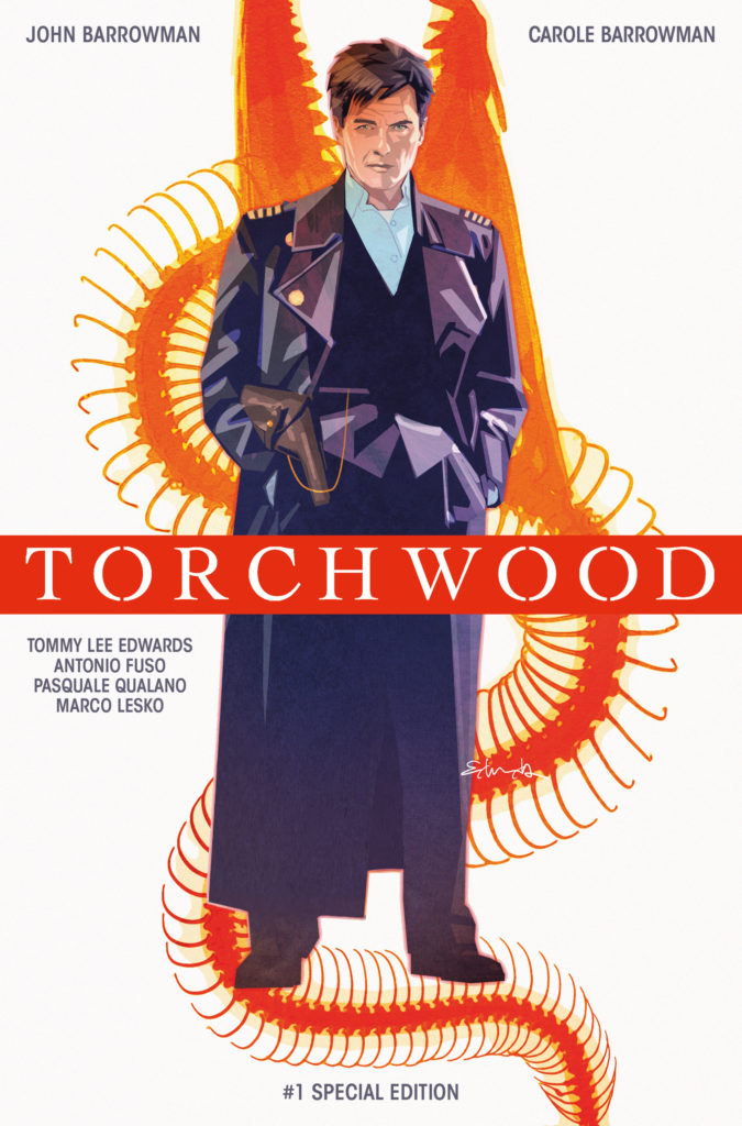 Torchwood #1 Convention Special - Cover A by Tommy_Lee_Edwards