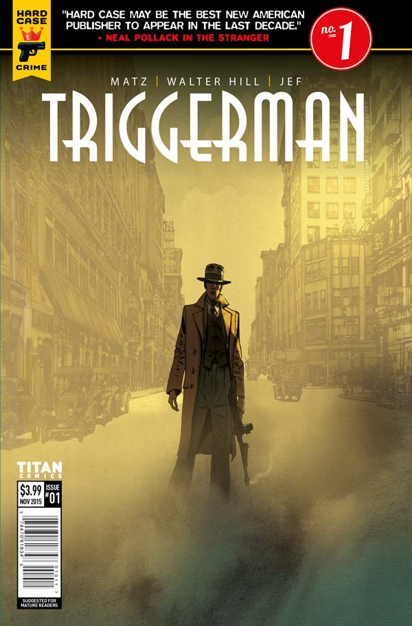 Triggerman #1 Cover A: Jef