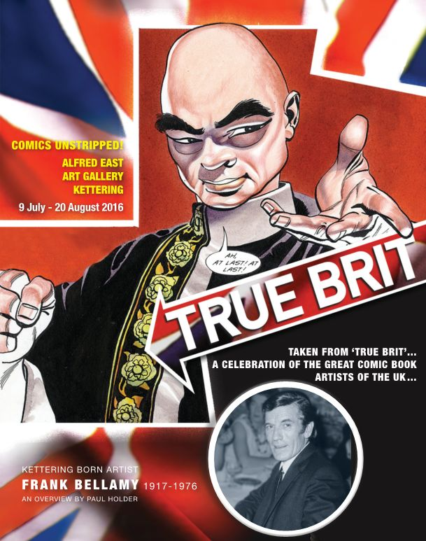 Comics Unstripped True Brit Souvenir Booklet