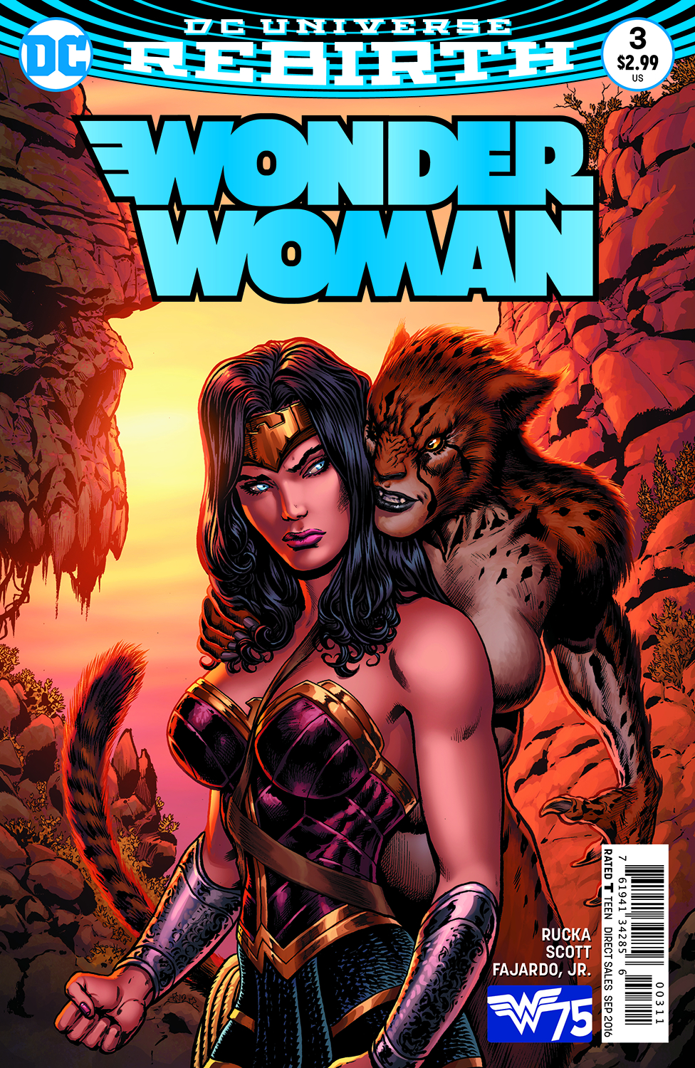 Wonder Woman #3 - Cover by Liam Sharp