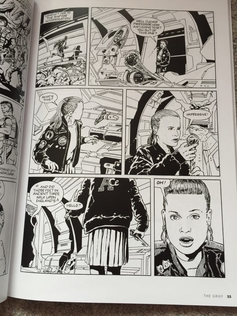 Doctor Who: The Grief written by Dan Abnett, pencilled by Vincent Danks