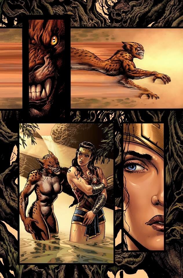 Wonder Woman #3 Page 2 Unlettered