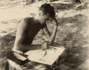A young Jack Davis. Image: Jack Davis Foundation