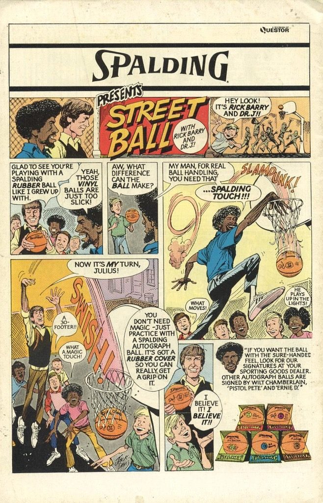 One of Jack Davis' memorable ad strips, which featured on the back of many a US comic