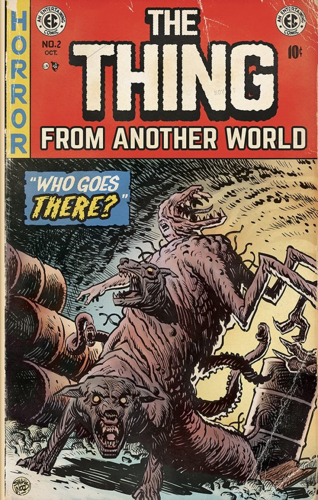 an analysis of the thing from another world movie Thing from another world script taken from a transcript of the screenplay and/or the 1951 movie - get some filings for analysis.