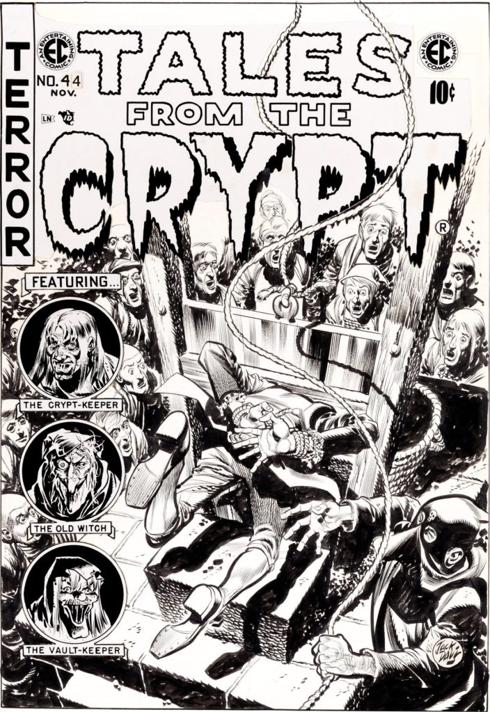 Tales from the Crypt art by Jack Davis