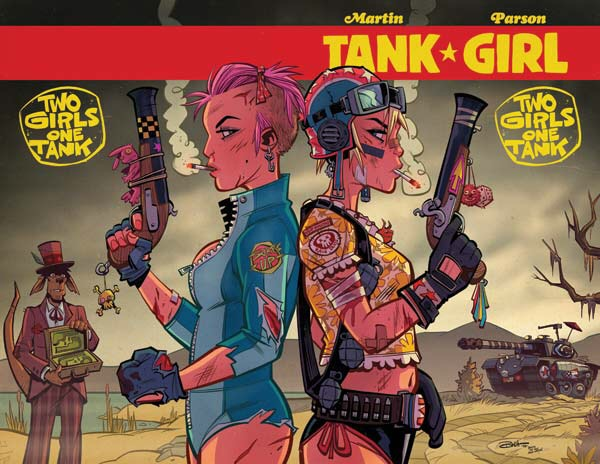 Tank Girl: Two Girls One Tank #4 Cover A