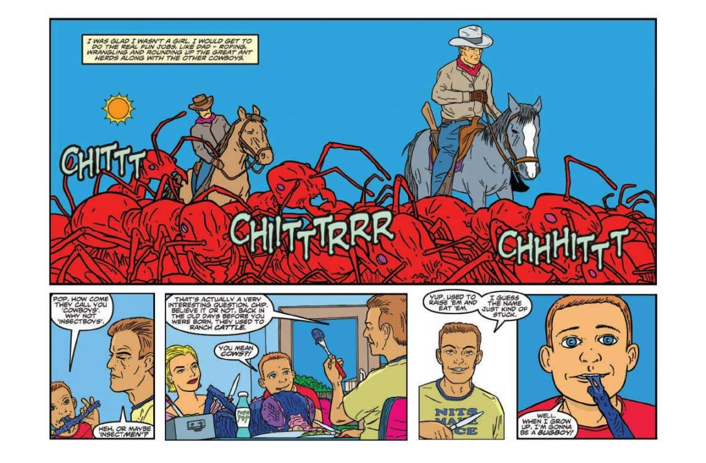Cowboys and Insects Page 5