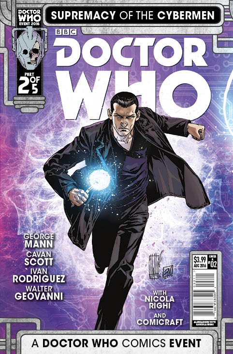Doctor Who Supremacy of the Cybermen #2 of 5 - Cover A