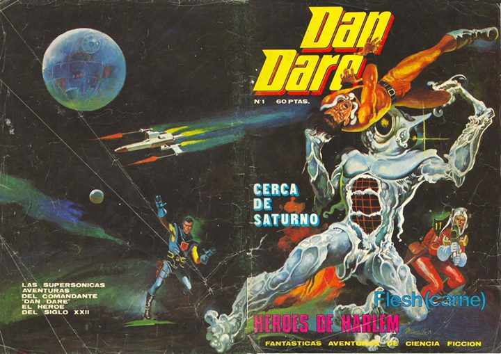 Dan Dare Issue 1 - Spanish