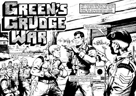 Inside Action - Green's Grudge War