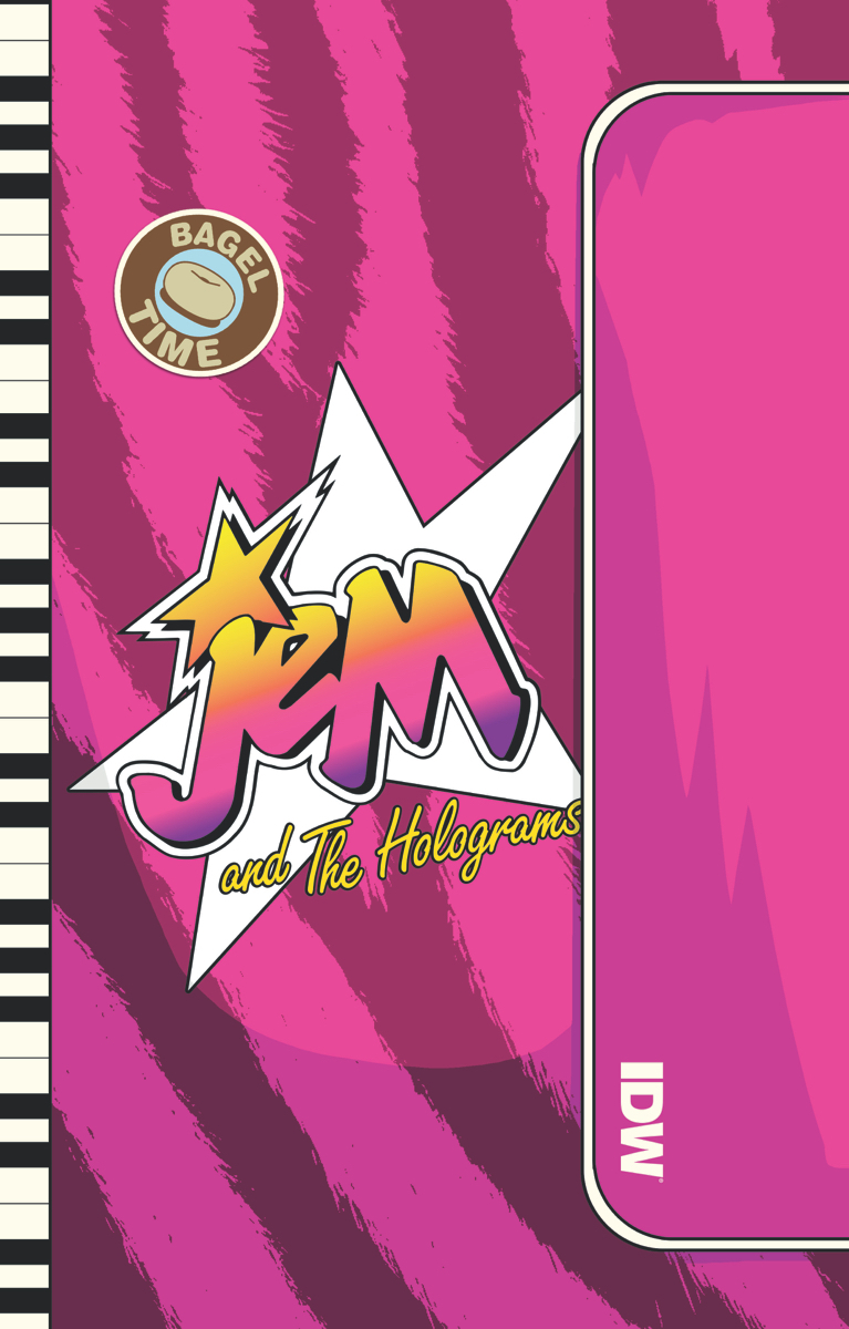 Jem & The Holograms Outrageous Hardcover Edition