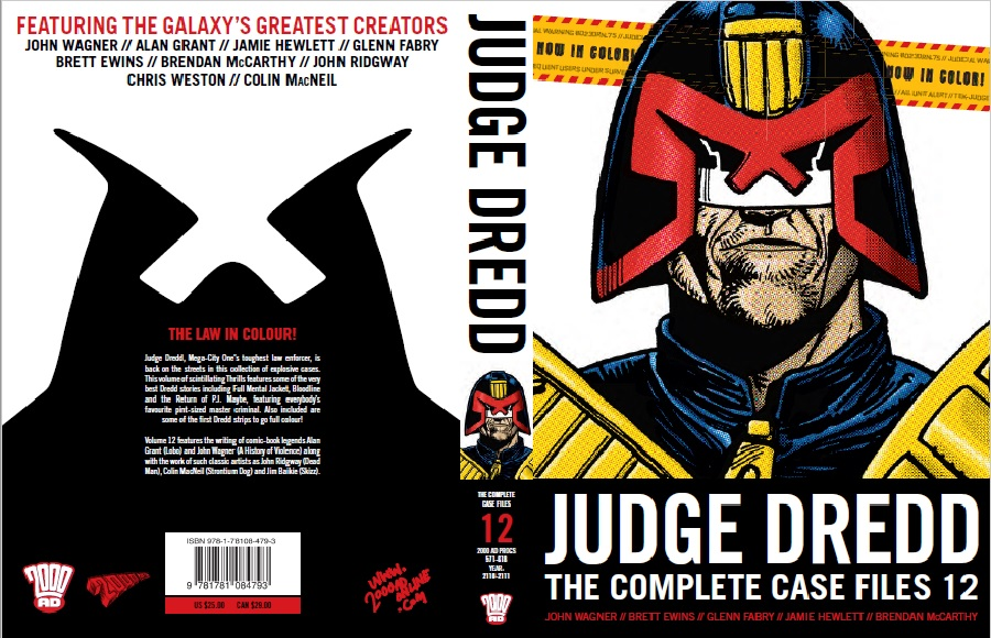 Judge Dredd Case Files 12 Cover