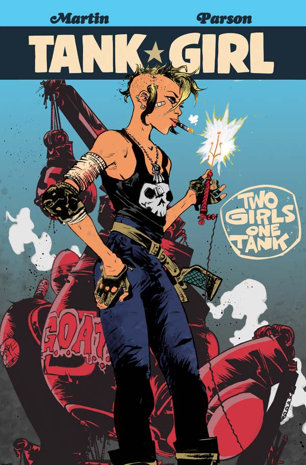 Tank Girl: Two Girls, One Tank #3 Cover A