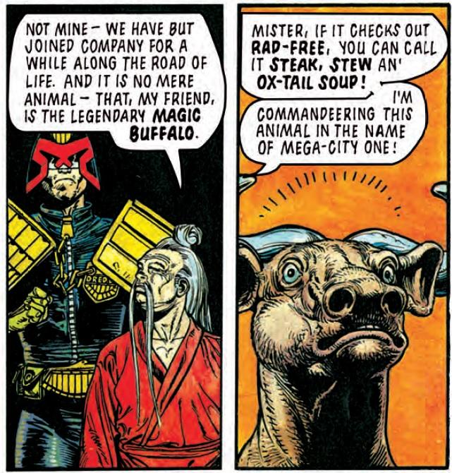 Judge Dredd: The Sage