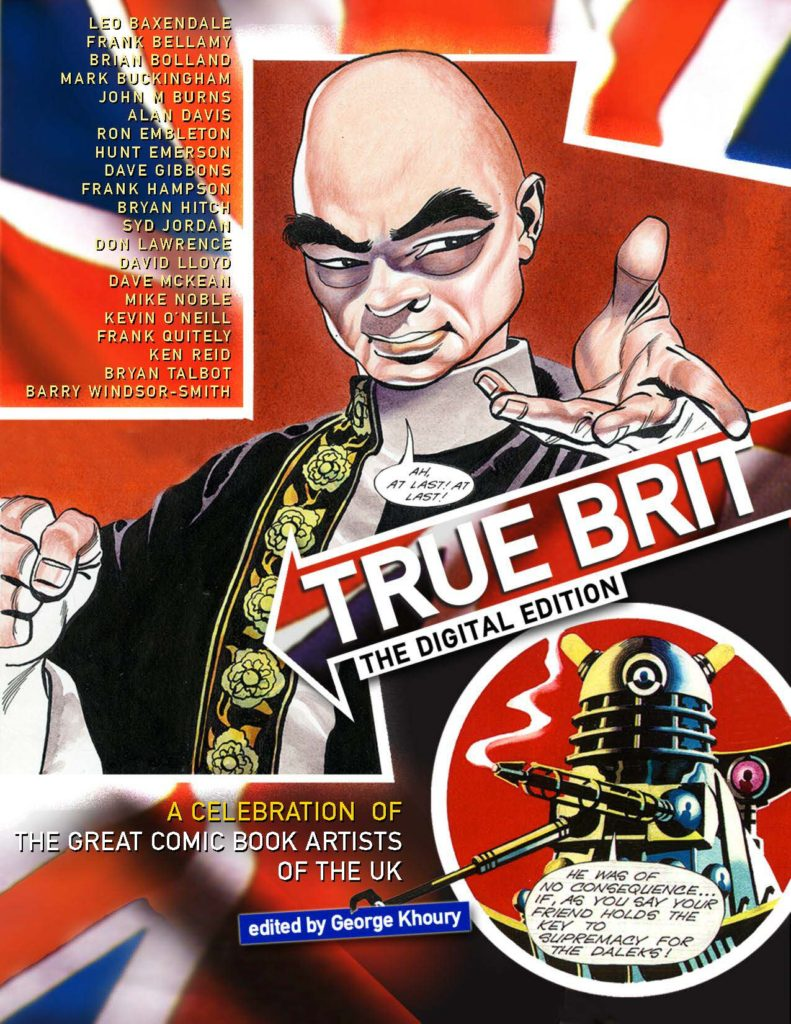True Brit Digital Edition - Cover