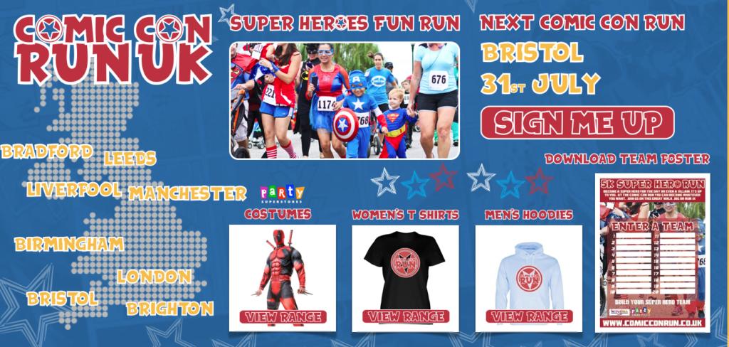 Comic-Con Run Graphic