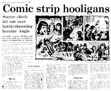 The Daily Mail: Comic Strip Hooligans