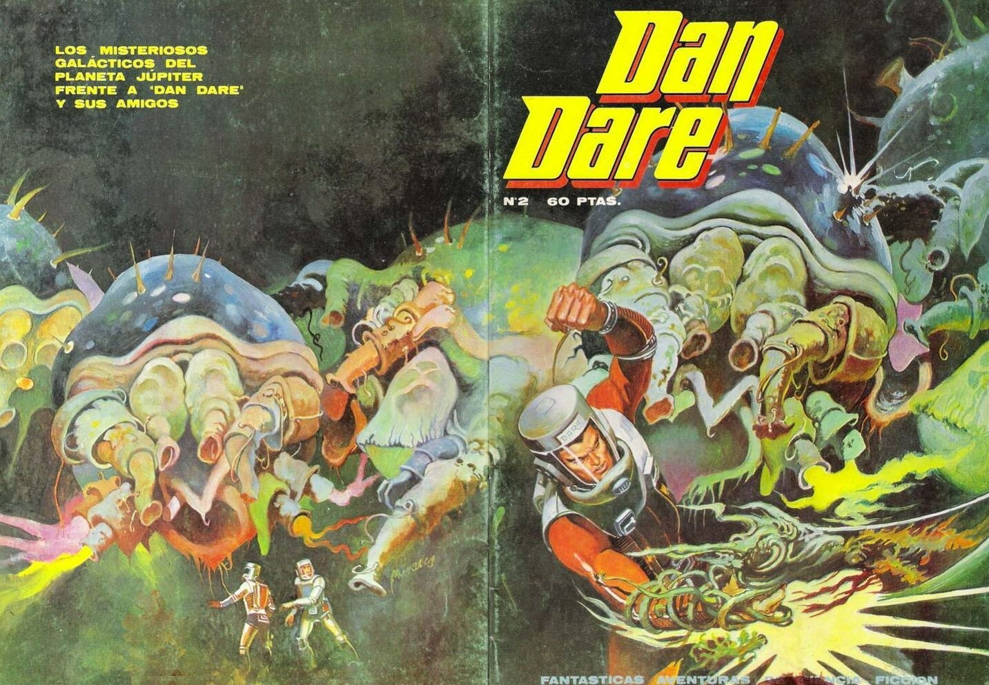 Dan Dare Issue 2 - Spanish