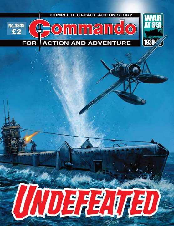 Commando No 4945 – Undefeated