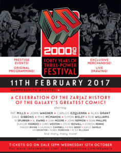 2000AD: 40 Years of Thrill Power