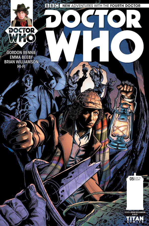 Doctor Who: The Fourth Doctor #5 - Cover A