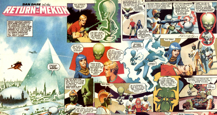 Dan Dare - Return of The Mekon by Ian Kennedy