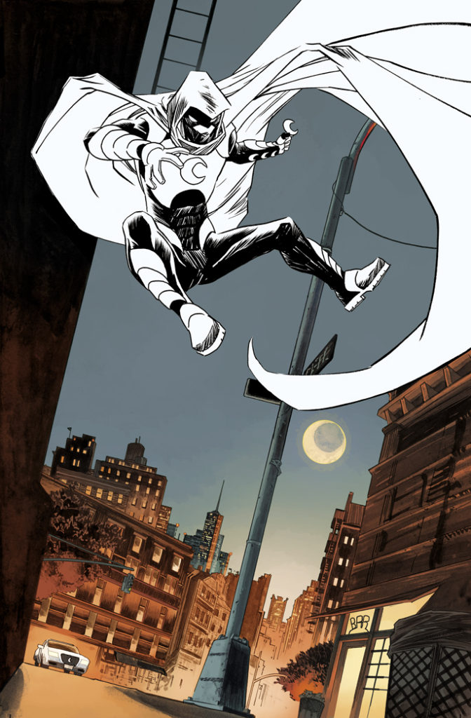 Moon Knight #1 - Splash
