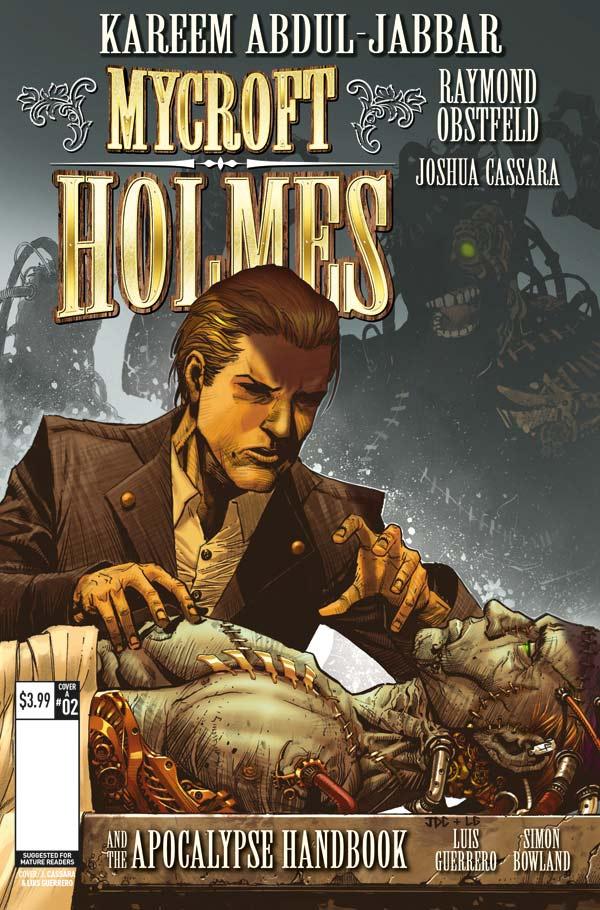 Mycroft Holmes #2 - Cover A
