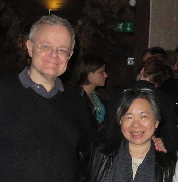 Nick Landau and Vivian Cheung
