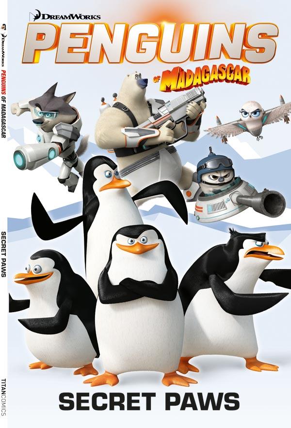 Penguins of Madagascar Volume 4