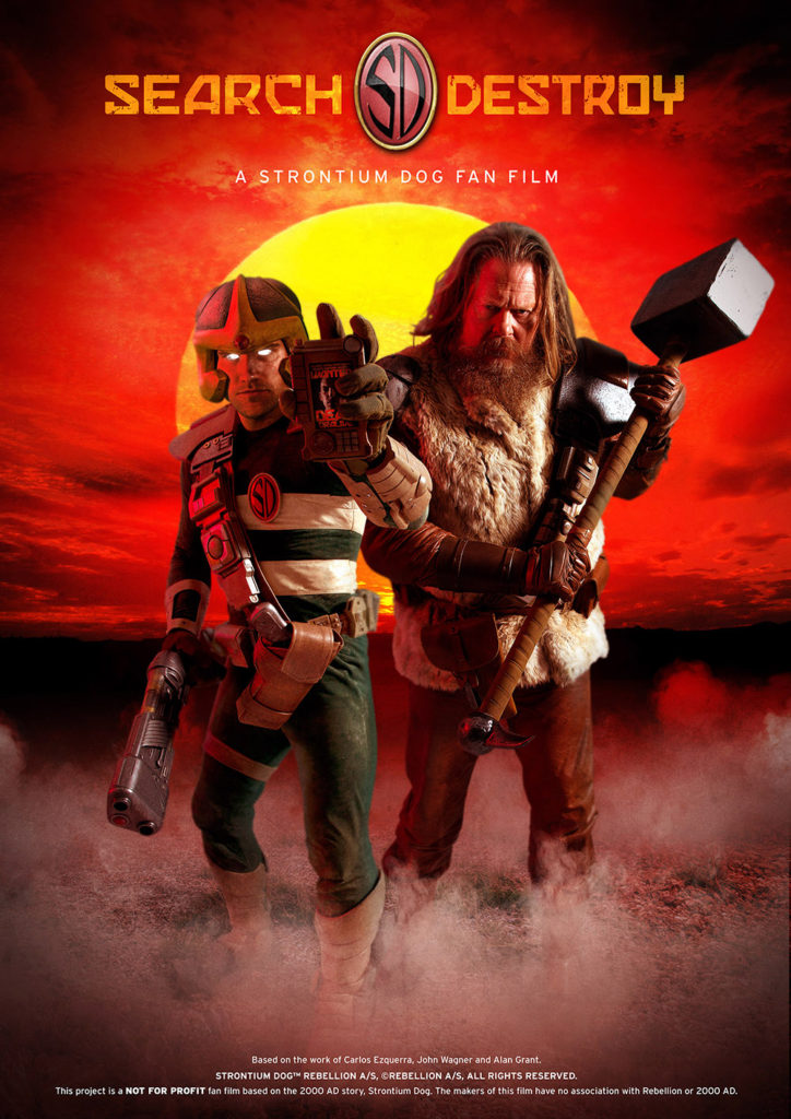 Search and Destroy - Strontium Dog Fan Film Poster
