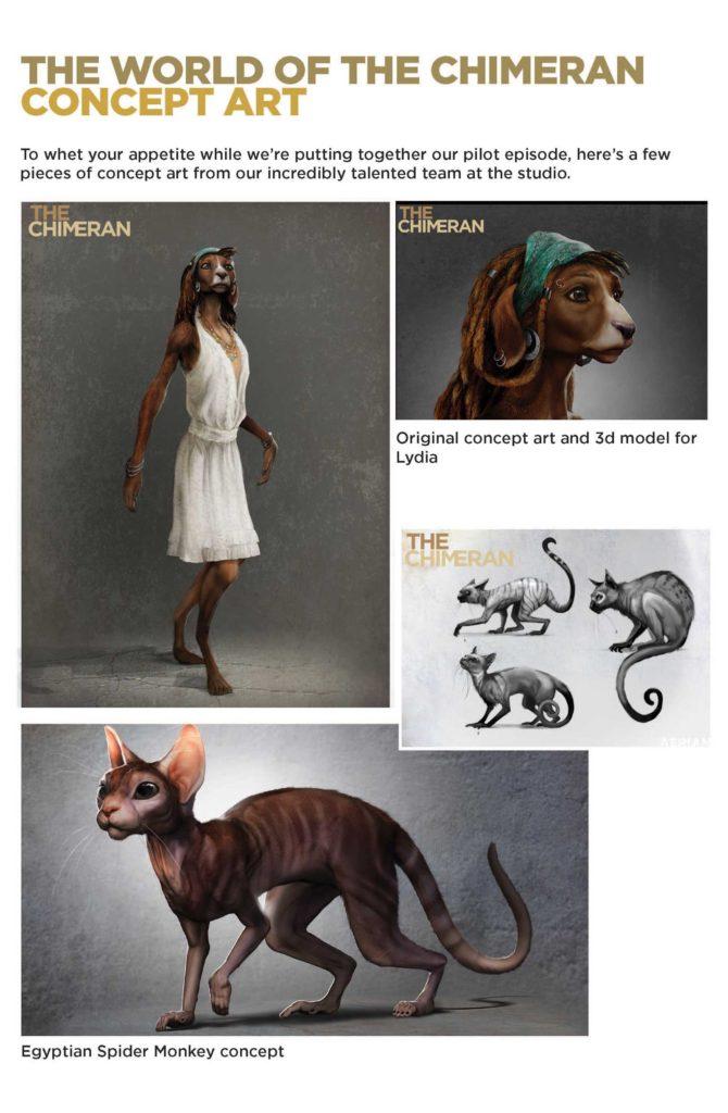 The Chimeran - Concept Art
