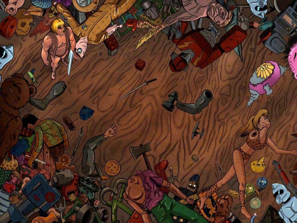 Torsobear - Saturday Morning Wars