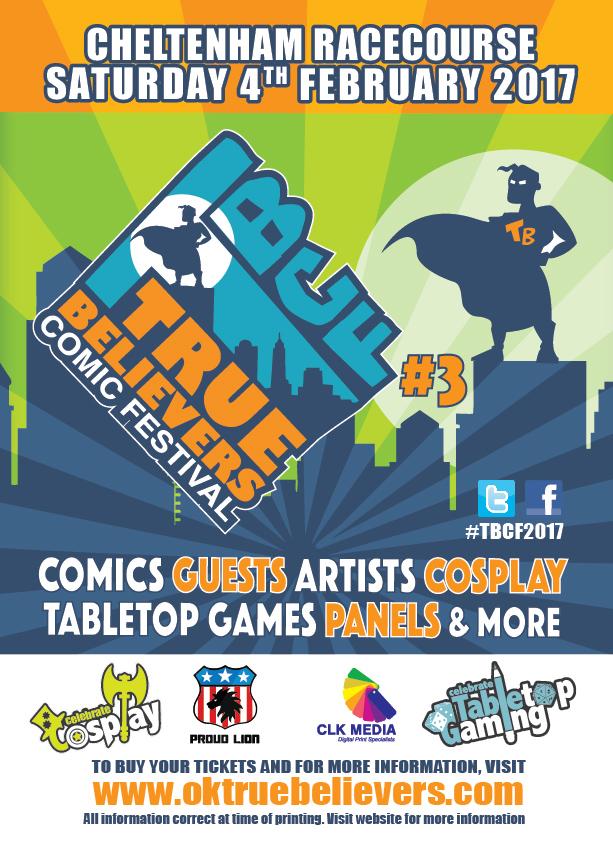 True Believers Comic Festival 2017 Poster
