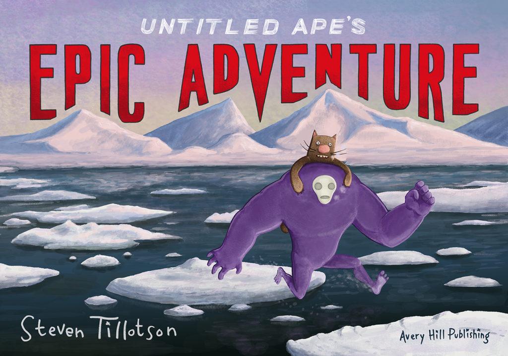 Untitled Ape's Epic Adventure - Cover