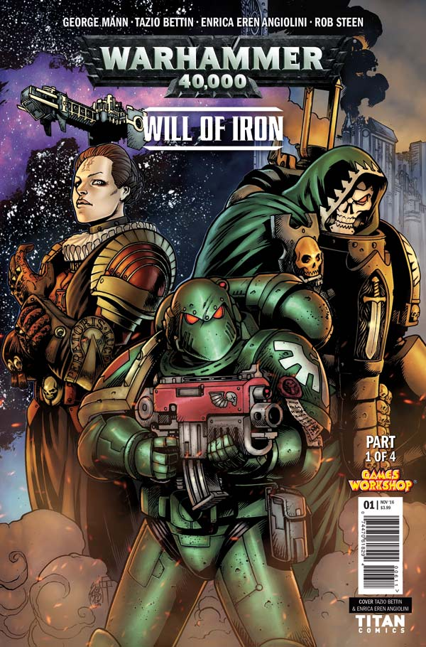 Warhammer 40,000: Will of Iron - Cover A