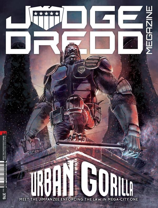 Judge Dredd Megazine 376