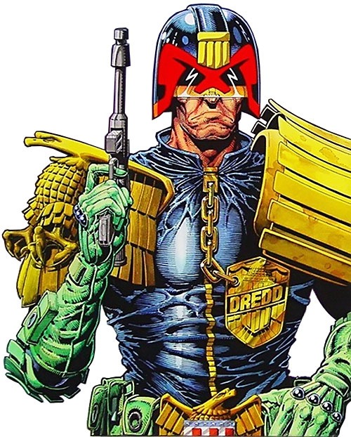 Judge Dredd Art