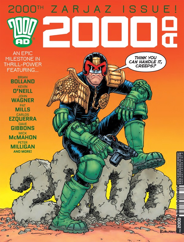 2000AD Prog 2000 Variant Cover by Chris Burnham