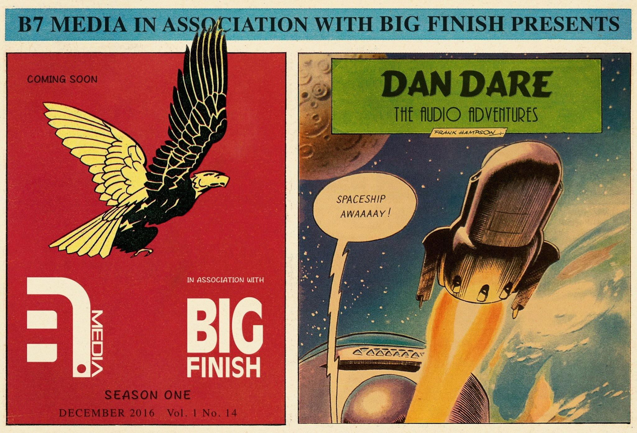 "Dan Dare Audio Adventures ""Lobby Cards"" released, second ""film poster"" revealed"
