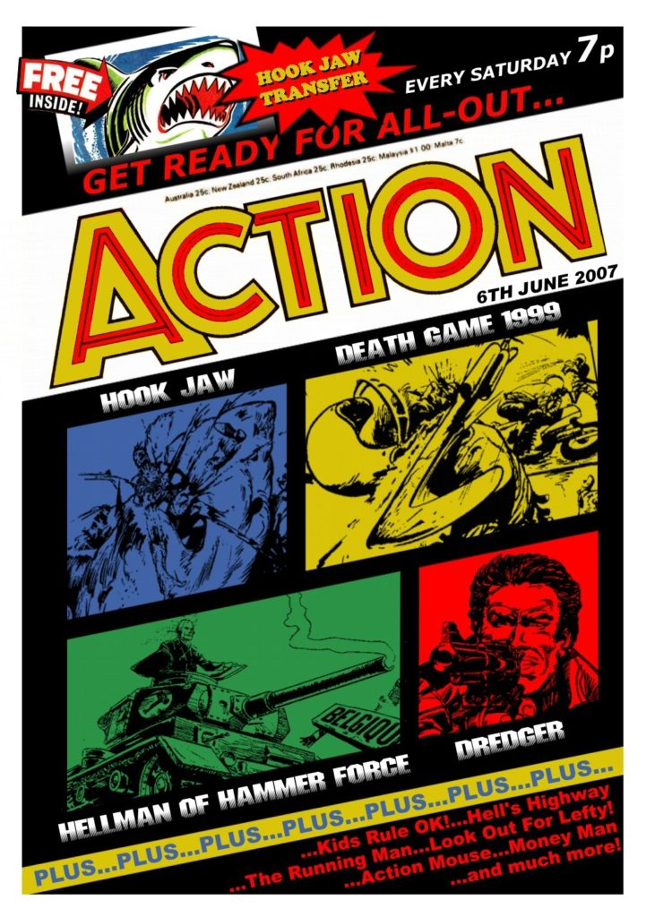Action - The Perfect Issue - Cover