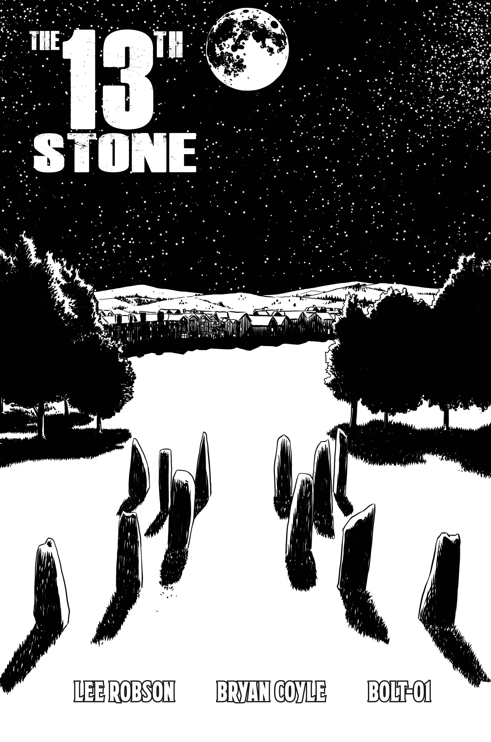 The 13th Stone - Cover