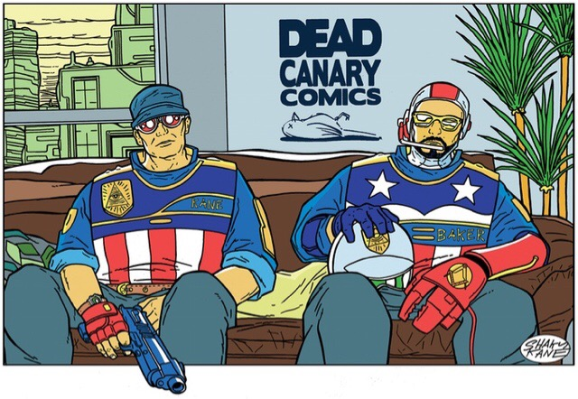 Dead Canary Comics Promotional Image