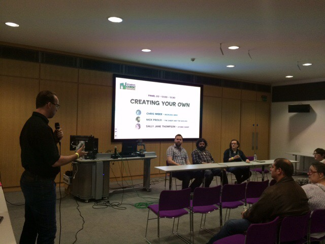 Nottingham Comic Convention 2016 - Create Your Own Comic Panel