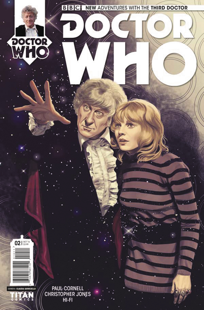 Doctor Who The Third Doctor #2 (Of 5) - Cover A