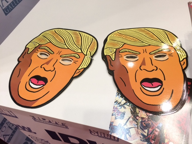 NYCC 2016 - Donald Trump Masks